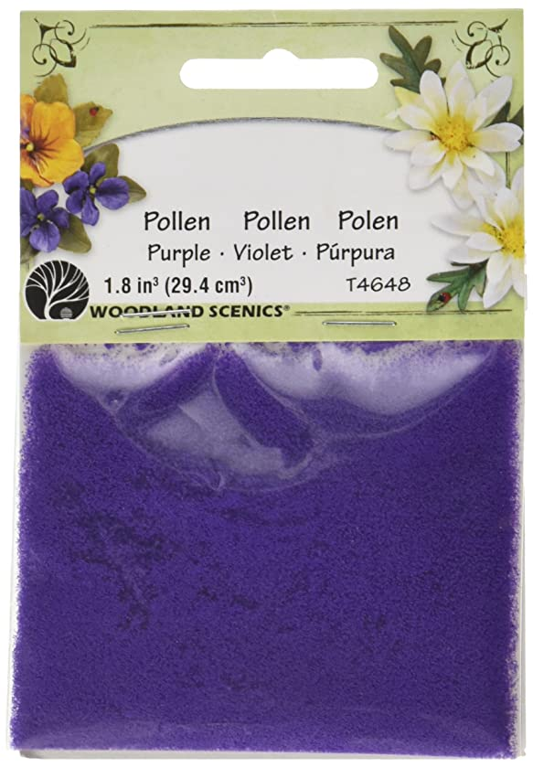 Woodland Scenics T46-48 Pollen, 1-Ounce, Purple