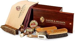 Langer & Messmer Mannheim Boîte à cirage en bois