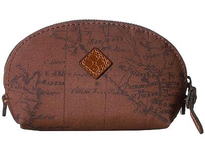 Patricia Nash Rosalie Dome Lipstick Case (Signature Map) Handbags