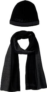 Calvin Klein Men's Hat and Scarf Set