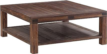 Modus Furniture Meadow Table, Coffee, Brick Brown
