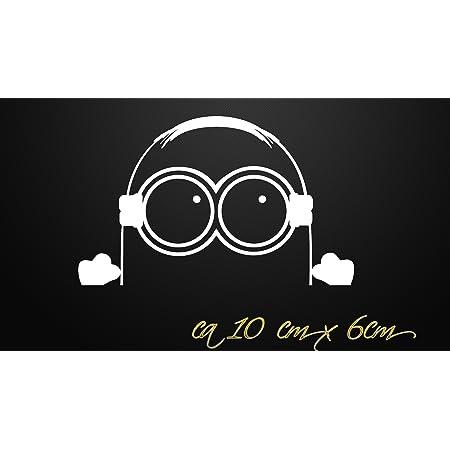 Minion Aufkleber Jdm Dub Style Sticker Oem Tuning Decal Fun 010 Weiß Auto