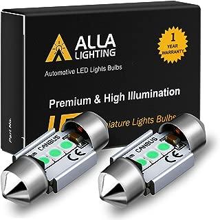 Alla Lighting DE3022 DE3175 LED Bulb Xtremely Super Bright 31mm CAN-BUS Festoon DE3021 3175 6428 3030 SMD Cars Trucks LED Interior Dome Map Trunk Step Courtesy Lights, 8000K Ice Blue