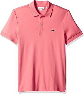 Lacoste Men's S/S Pima Jersey Polo Interlock Reg