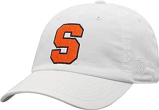 white syracuse hat