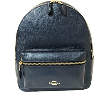 F30550 Medium Charlie Backpack (IM/Metallic Denim)