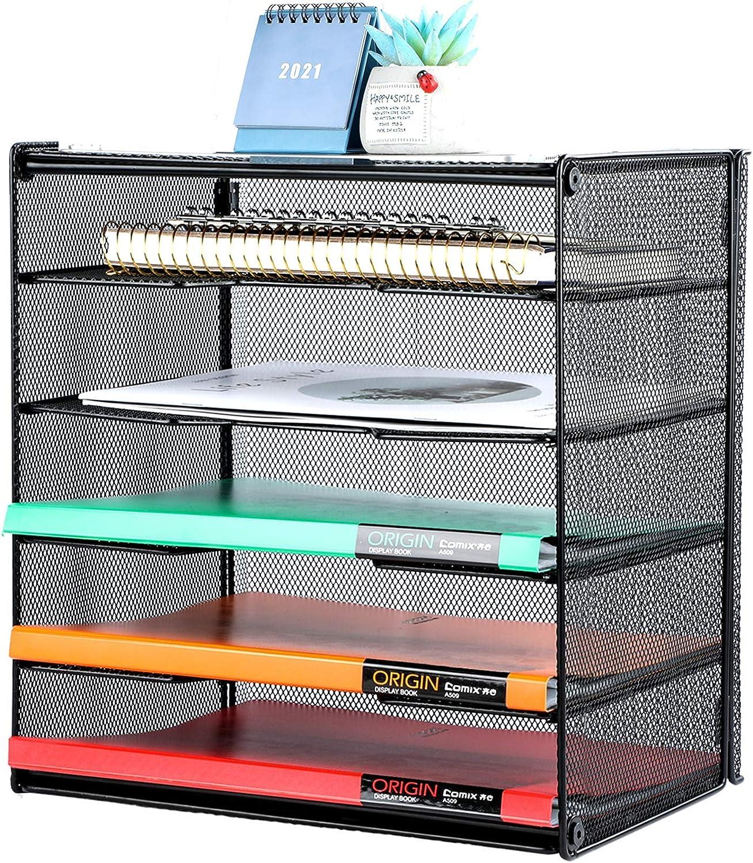 Samstar Letter Tray Paper Max 65% OFF Organizer Manufacturer direct delivery Desk wi Mesh File