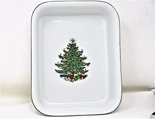 Cuthbertson Christmas Tree 9 Inches x 7 Inches Rectangular Baker Casserole Dish