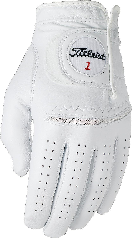 Max 74% OFF Titleist Perma Soft Golf Glove Max 50% OFF Mens Small LH White Pearl Reg W