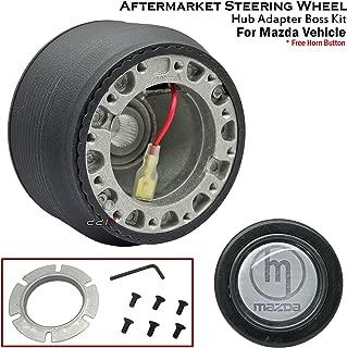 1 x Steering Wheel Hub Adapter Boss Kit Fits For Mazda RX-8 MX-5 NB NC 323 Familia BJ