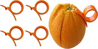 4 Round (Citrus Fruit) Peelers by Chef Craft