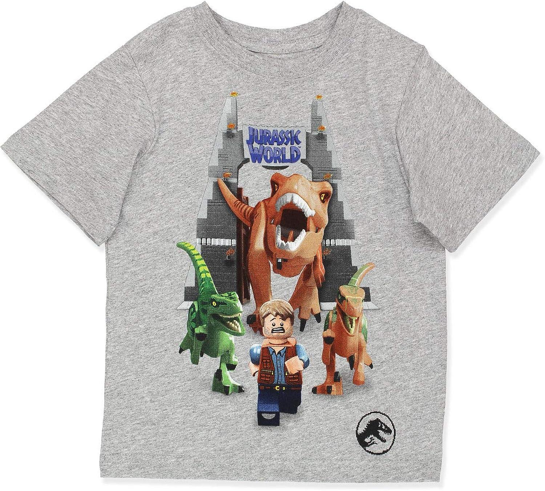 LEGO Jurassic World Dinosaur Boy's Short Sleeve T-Shirt Tee