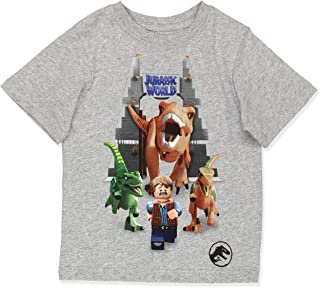 Jurassic World Dinosaur Boy's Short Sleeve T-Shirt Tee