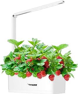 VIVOSUN Hydroponics Growing System Smart Indoor Garden Herb Kitchen Garden Kit with LED Grow Light