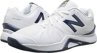 (ニューバランス) New Balance メンズテニスシューズ?スニーカー?靴 MC1296v2 White/Blue 10 (28cm) D - Medium