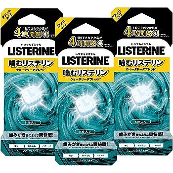 【Amazon.co.jp限定】 LISTERINE(リステリン) ウォータリータブレット 8個入×3