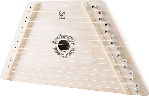 Hape - E0323 - Instrument de Musique en Bois Premier Age - Ma Première Cithare