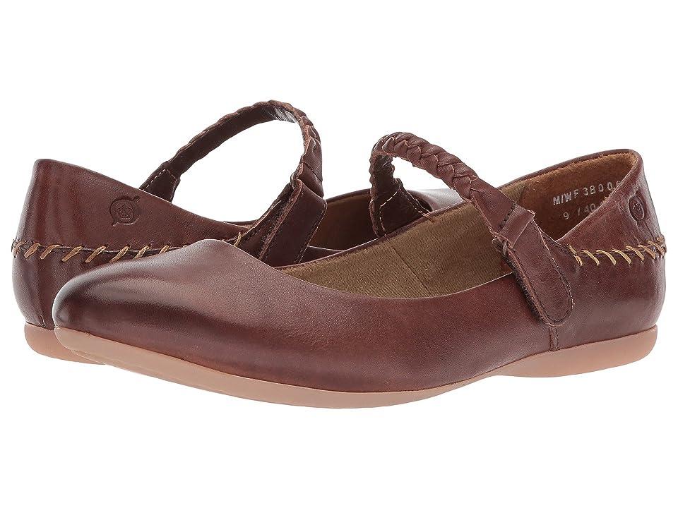 Born Maarten (Red/Brown Full Grain Leather) Women