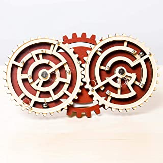 Project Genius Jc005 Brain Teaser Puzzle, Wooden