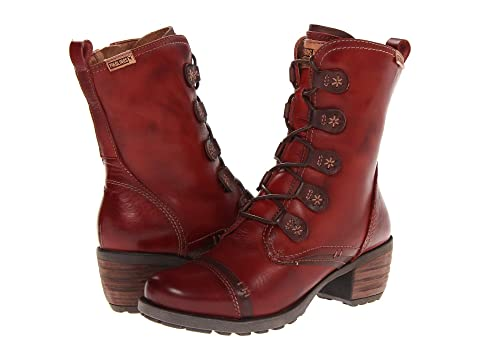 Pikolinos Womens Le Mans 838-9232 Lead Leather Boots 40 EU