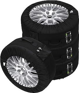 Cora 000120778 Lot de 4 housses de pneu