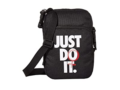 Nike Heritage Small Items Rebel Graphic (Black/University Red/White) Bags
