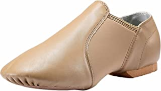 Dynadans Leather Upper Slip-on Jazz Shoe for Girls and Boys (Big Kid/Little Kid/Toddler)