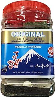 Teriyaki Nori Seasoned Roasted Seaweed (Original) 1 Jar 0.7oz
