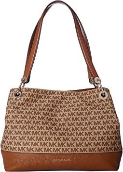 fe5b4417566438 Michael michael kors newbury medium shoulder tote | Shipped Free at ...