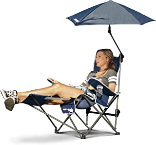 fold up chairs with umbrella