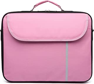 Datazone Shoulder Laptop Bag size 15.6 inch, Pink DZ-2050