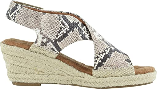 Beige/Brown Snake Print