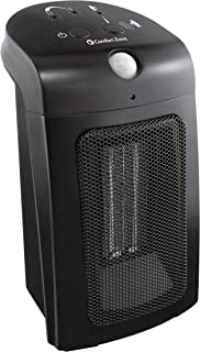 Comfort Zone Portable Space Heater Motion Detector, On/Off, Energy Efficient, Safe Space Heater is Perfect for Home & Office.