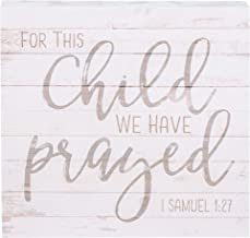 for this child we have prayed verse