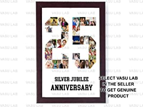 Personalized Photo Any Number Collage White Background (12x18-Inch)