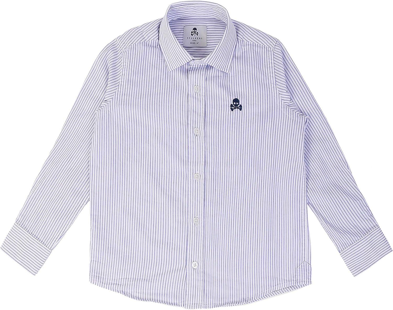 Scalpers Siena Shirt Kids - Camisa para niño, Talla: Amazon ...