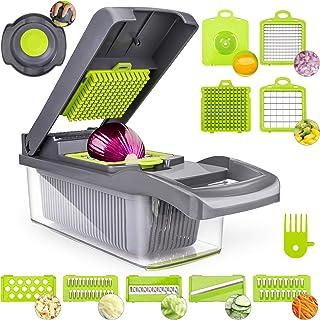 Vegetable Chopper Dicer Mandoline Slicer, ENLOY Onion Chopper Food Slicer Cutter for Vegetable...