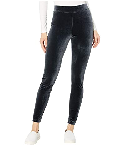 HUE Velvet Leggings (Cobblestone) Women