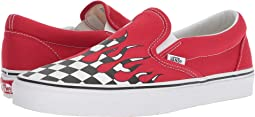 (Checker Flame) Racing Red/True White