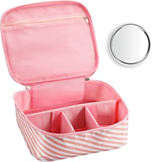 حقيبة مكياج للسفر من اونلي لايك حقيبة مكياج للنساء بسعة كبيرة لمستحضرات التجميل حقيبة مكياج للحفلات