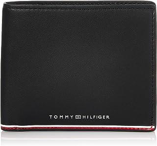Tommy Hilfiger Herren TH Commuter EXTRA CC and Coin Reisezubehör-Reisebrieftasche, Schwarz, Einheitsgröße