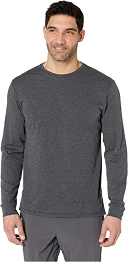 R.W.T. Long Sleeve Heathertech Top