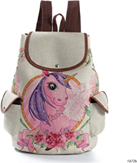 Lightweight Travel School Mini Backpack for Women Girls Boys Teens Kids Children Bucket Type Cartoon Children's College Bag