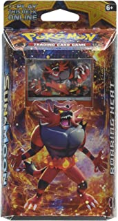 Pokemon TCG: Sun & Moon - Incineroar Roaring Heat Theme Deck | Full Ready to Play Deck of 60 Cards | Includes Cracked Ice Holofoil Version of Incineroar Plus Deck Case, Litten Metallic Coin & More