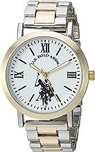 U.S. Polo Assn. Women's Analog-Quartz Watch with Alloy Strap, Two Tone, 8 (Model: USC40261AZ)