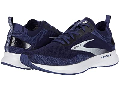Brooks Levitate 4 (Navy/Grey/White) Men