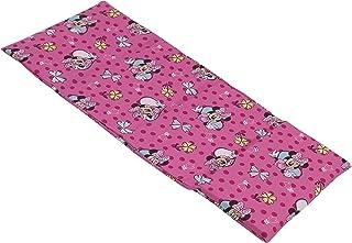 Disney Minnie Mouse Pink and Aqua Preschool Nap Pad Sheet