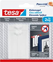 tesa Adhesive Nail for Wallpaper & Plaster 2 kg, wit
