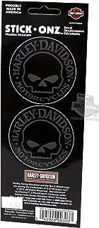 Chroma Graphics Harley Davidson Willie G. Skull Decals