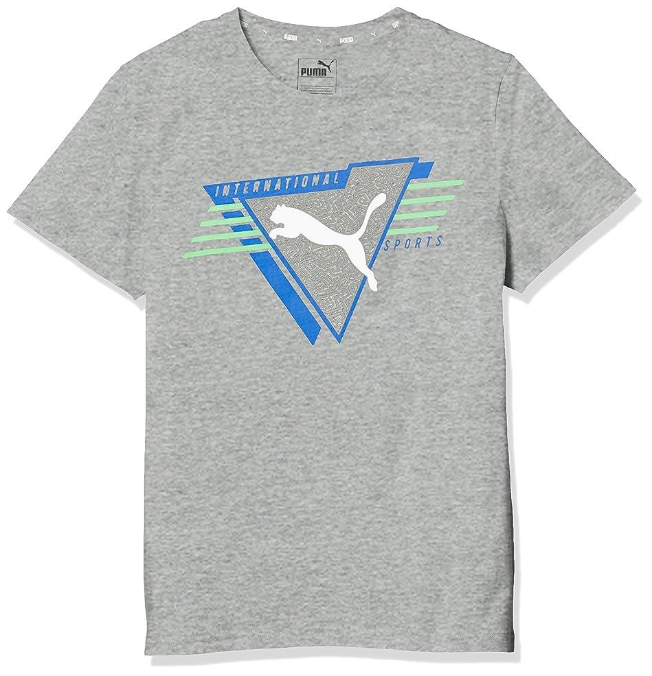 サンダル艦隊統計的[プーマ] トレーニングウェア ALPHA 半袖グラフィック Tシャツ [ボーイズ] 843945